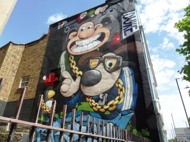 Cheo and Soker, Bond Street, Bristol, June 2017