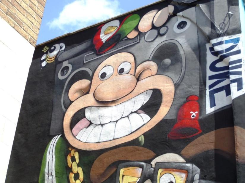 Cheo, Bond Street, Bristol, June 2017