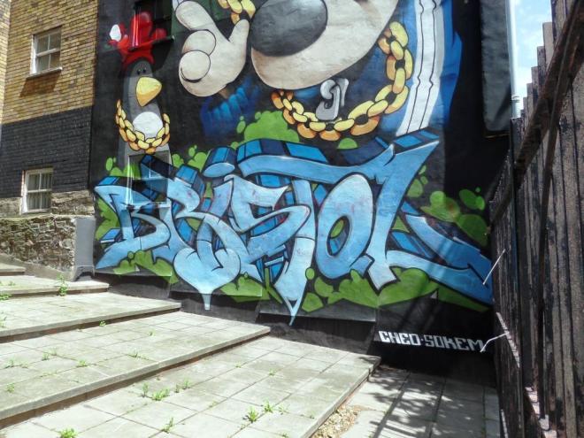 Soker, Bond Street, Bristol, June 2017