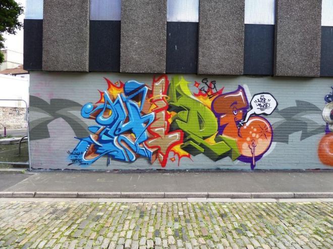 Hide2, Wilder Street, Bristol, August 2017