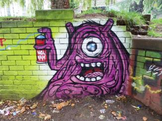 NEVERGIVEUP, The Bearpit, Bristol, August 2017