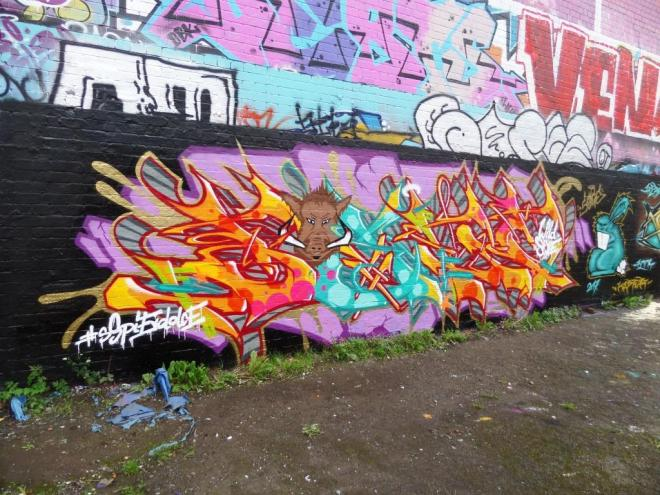 Soge, Dean Lane, Bristol, August 2017