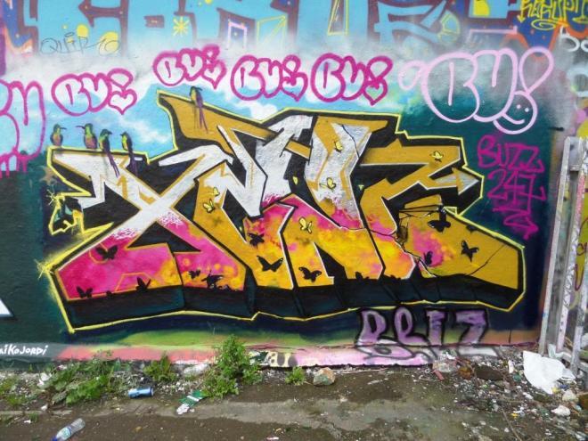 Xenz, Dean Lane, Bristol, August 2017