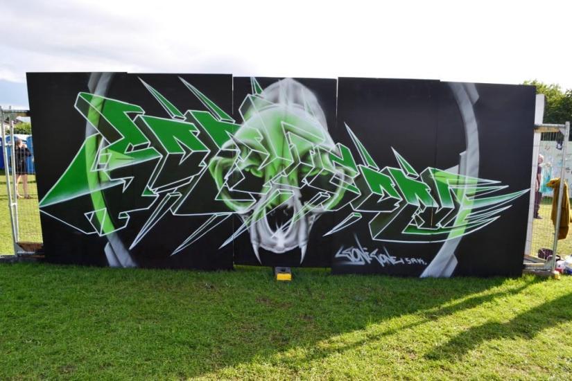 Sonic Oner, Upfest, Bristol, July 2017