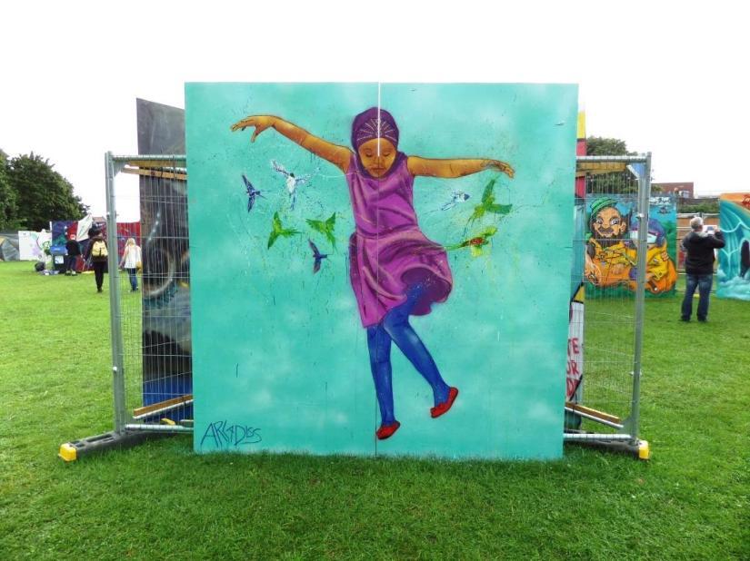 Arladiss, Upfest, Bristol, July 2017