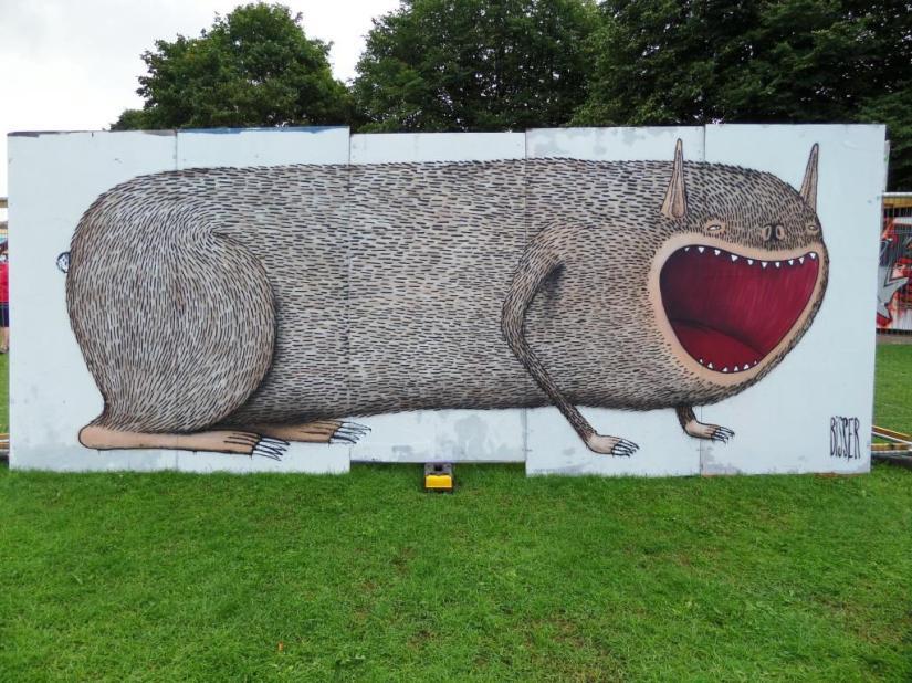 Bisser, Upfest, Bristol, July 2017