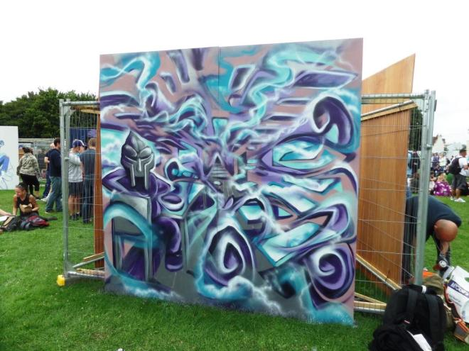 Mr Klue, Upfest, Bristol, July 2017