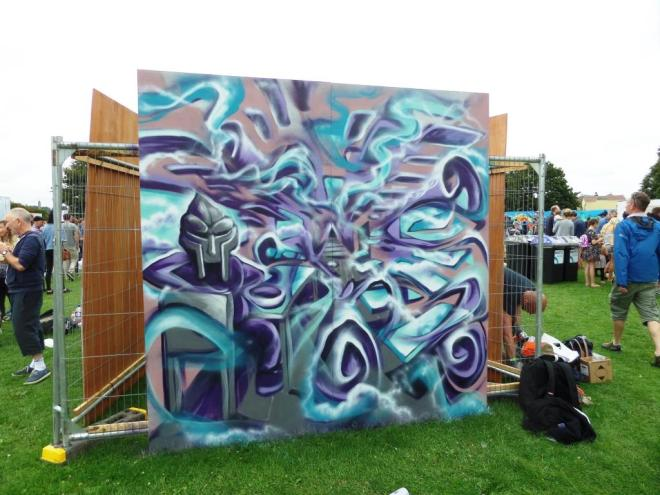 Mr Klue, Upfest, Bristol, July 2017