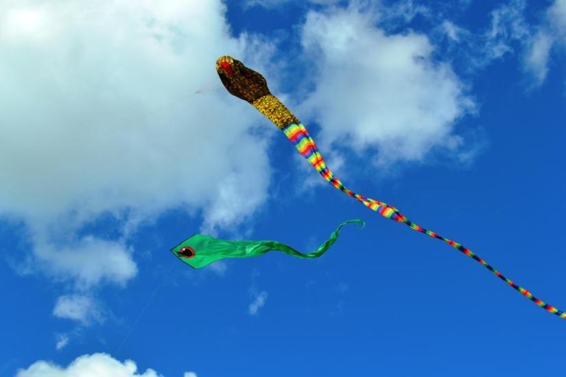 Kite, September, Hailu