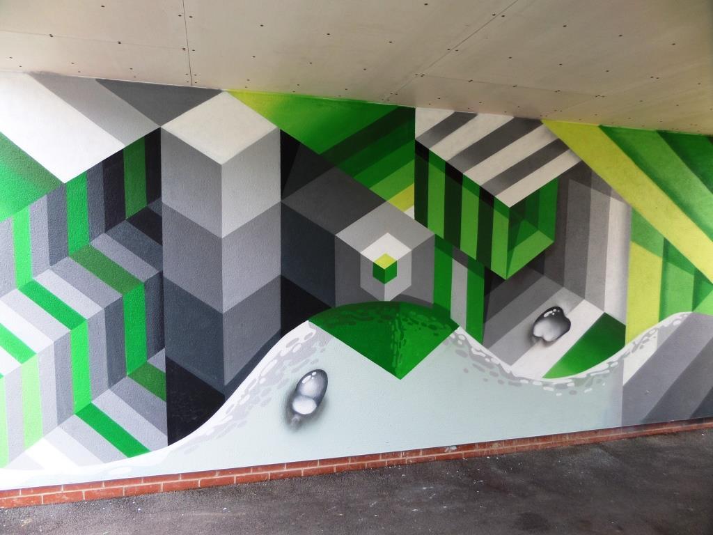 Mr June, Upfest, Bristol, July 2017