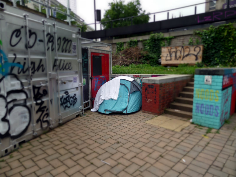 Tent, The Bearpit, Bristol