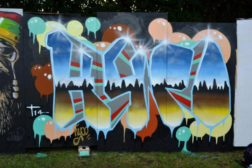 Hypo, Upfest, Bristol, July 2017