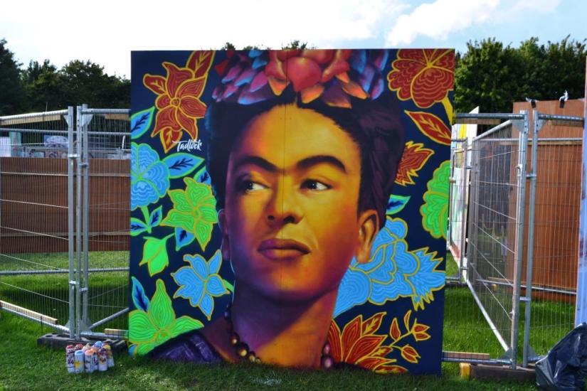 Alexander Tadlock, Upfest, Bristol, July 2017
