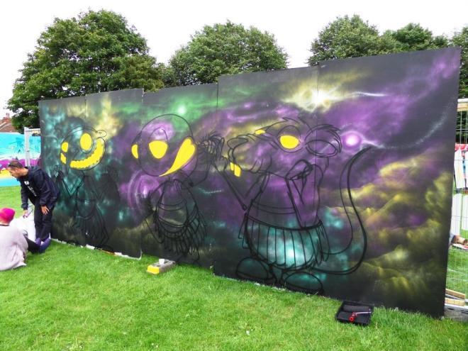 Mas972, Upfest, Bristol, July 2017