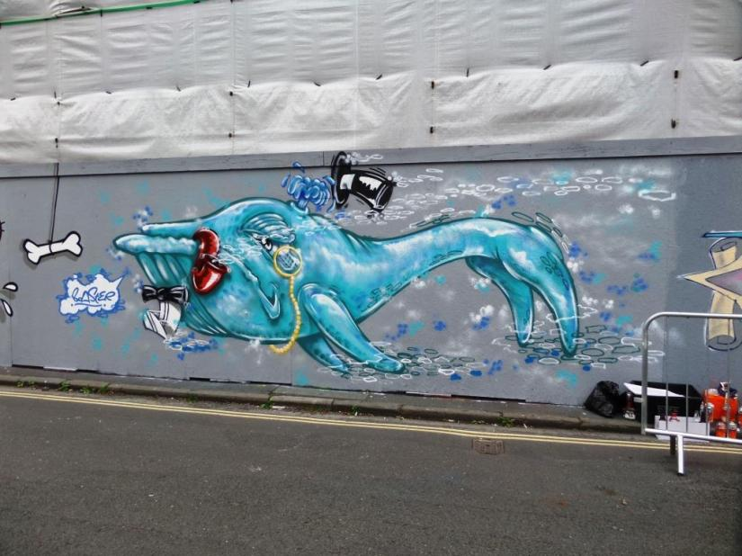 Boaster, Upfest, Bristol, July 2017