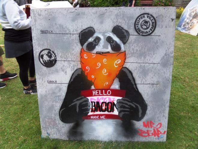 Mr Bear, Upfest, Bristol, July 2017