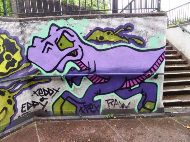 Ryder and T-Rex, Bedminster, Bristol, September 2017