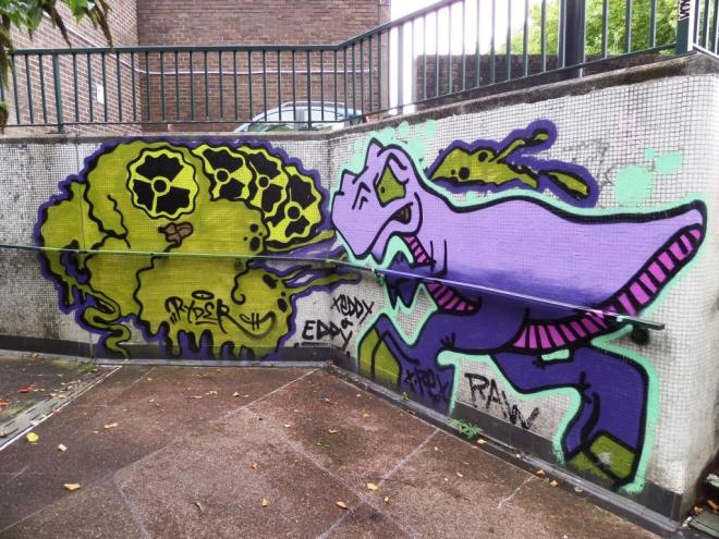 Ryder and T-Rex, Bedminster, Bristol, September 2017