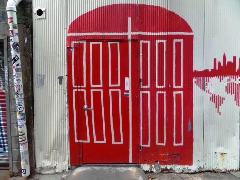 Door, Freeman Alley, New York
