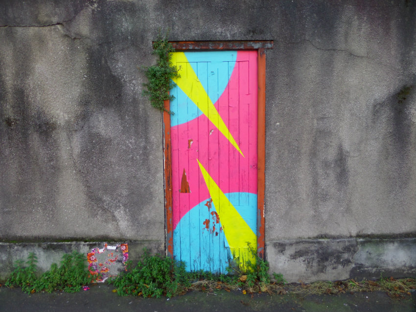 Thursday door. North Street, Bedminster, Bristol