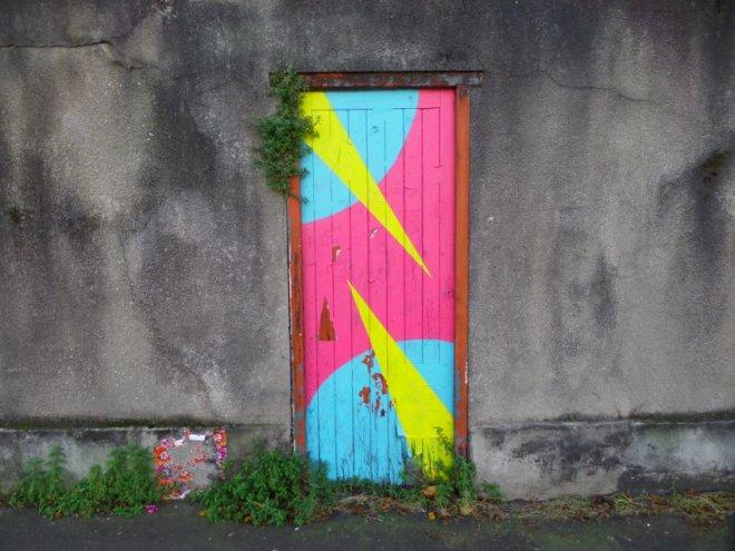 Thursday door. North Street, Bedminster, Bristol