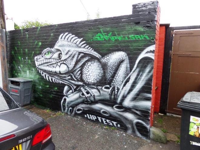 Soniconer, Greville Road, Bristol, July 2017