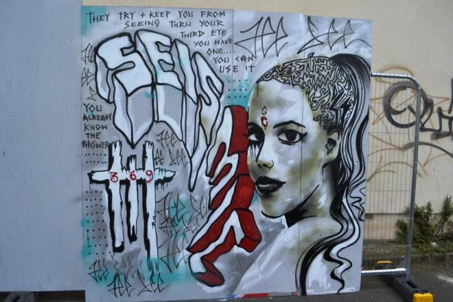 Jee See, Upfest, Bristol, July 2017
