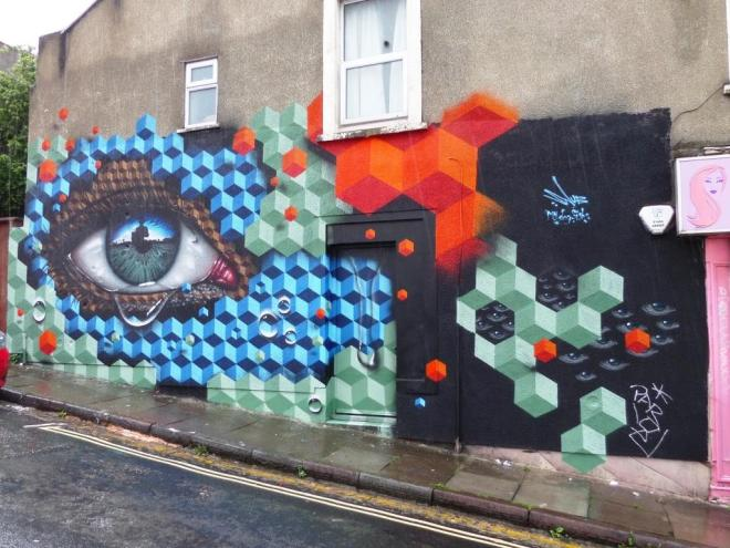 My Dog Sighs and Snub23, Upfest, Bristol, July 2017