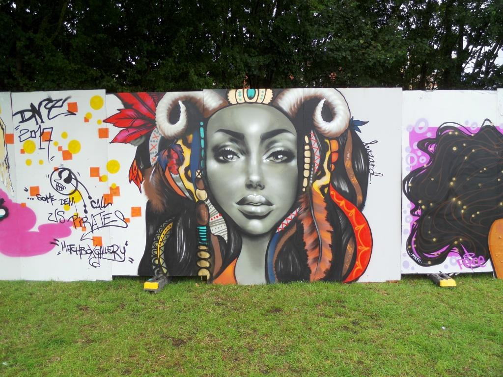Hazard, Upfest, Bristol, July 2017
