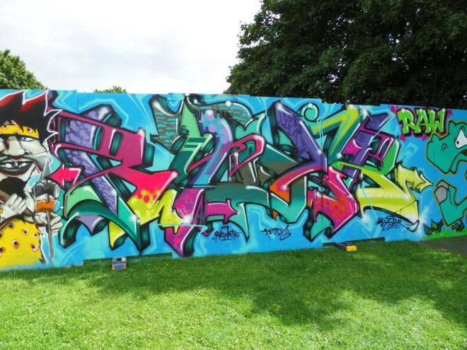 Ryder, Upfest, Bristol, July 2017
