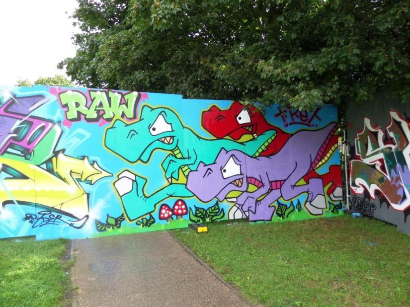 T-Rex, Upfest, Bristol, July 2017