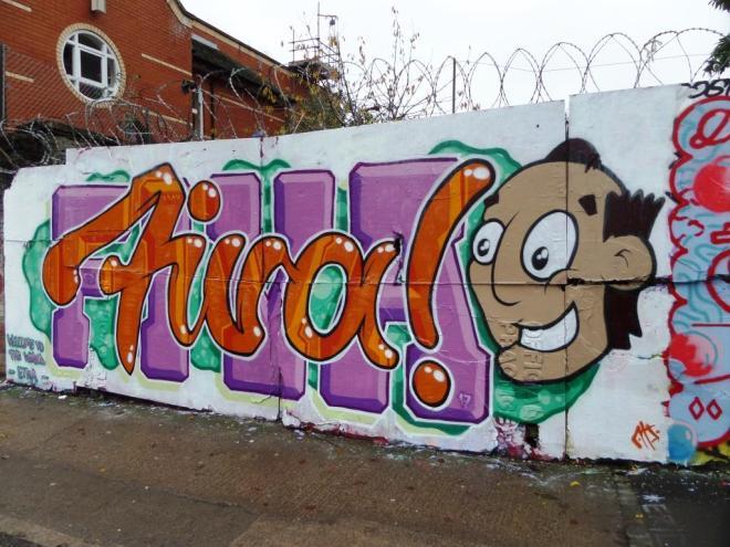 Fiva, Ashley Road, Bristol, November 2017