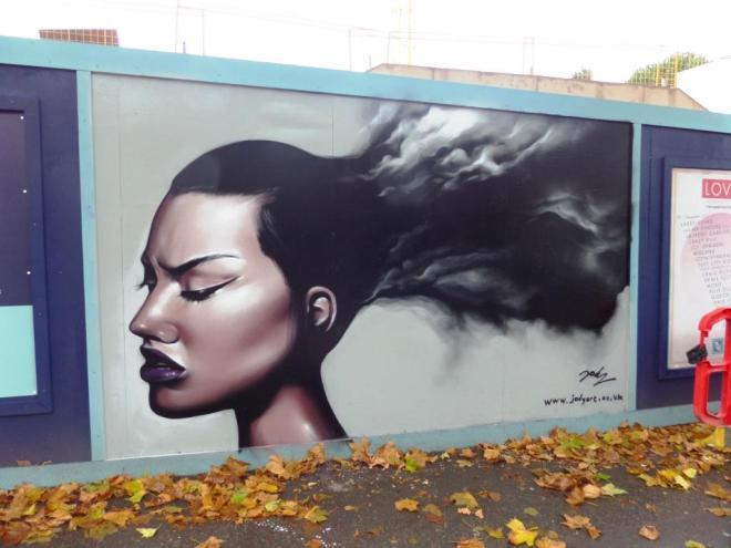 Jody, Cheltenham Road, Bristol, November 2017