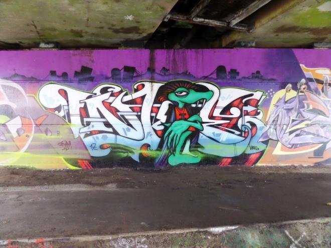 Inkie, Brunel Way, Bristol, November 2017
