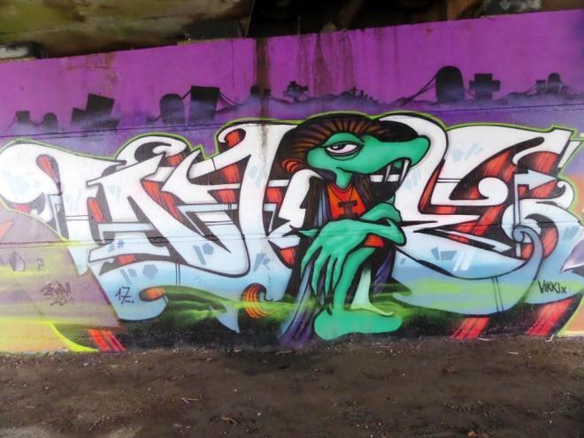 Inkie, Brunel Way, Bristol, November 2017