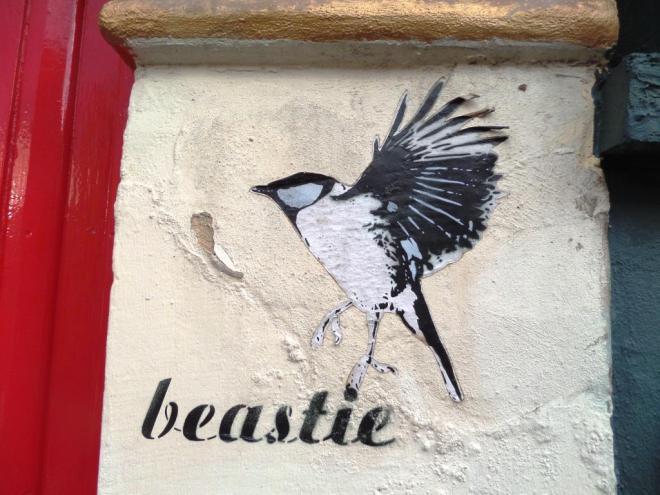 Beastie, Jamaica Street, Bristol, August 2017