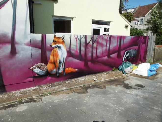 Zase and Dekor, Cottrell Road, Bristol, September 2017