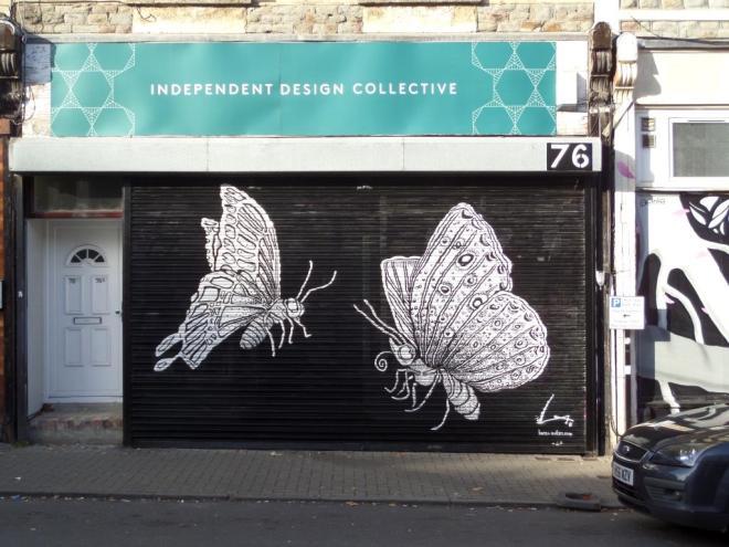 Alex Lucas, North Street, Bristol, October 2017