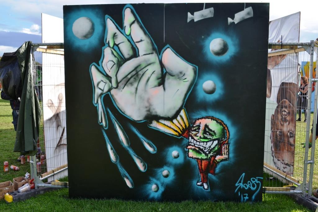 Skor85, Upfest, Bristol, July 2017