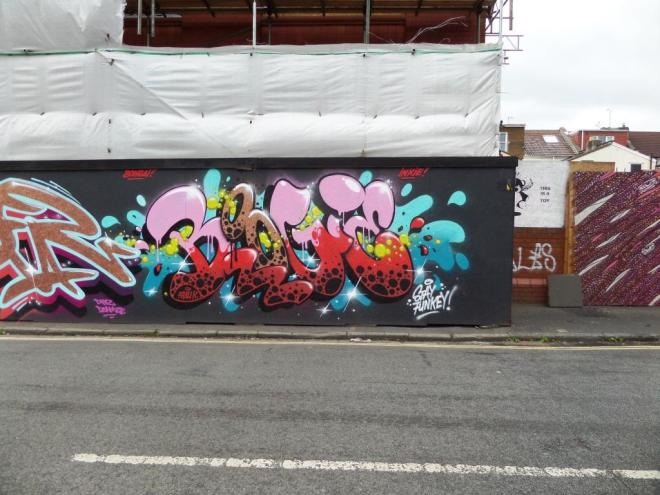 Boogie, Raleigh Road, Bristol, July 2017