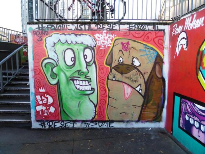 Kid Crayon and Ugar, The Bearpit, Bristol, November 2017