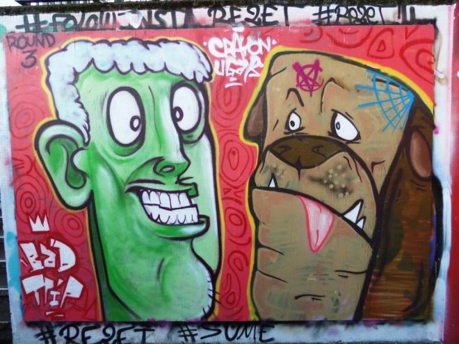 Kid Crayon and Ugar, The Bearpit, Bristol, November 2017
