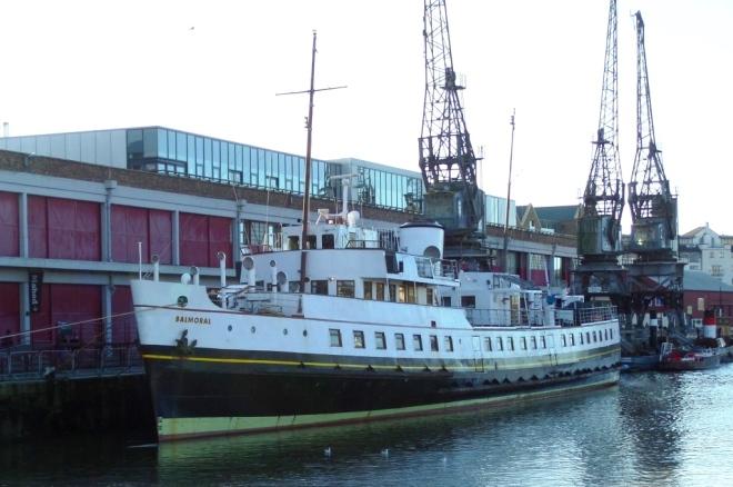 MV Balmoral, Bristol