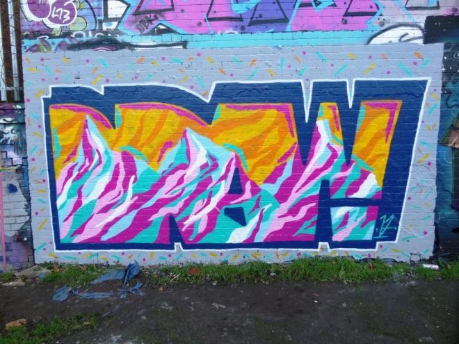 Mr Draws, Dean Lane, Bristol, November 2017