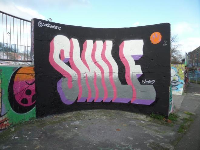 Luke Smile, Dean Lane, Bristol, November 2017