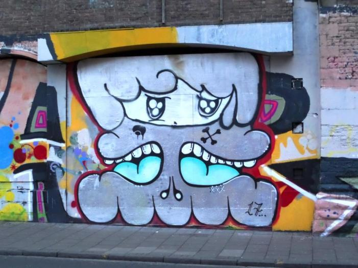 Face F1st and Soap, Stokes Croft, Bristol, December 2017