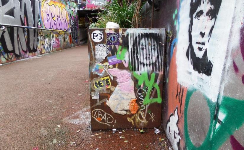 1231. Leake Street tunnel, London(5)