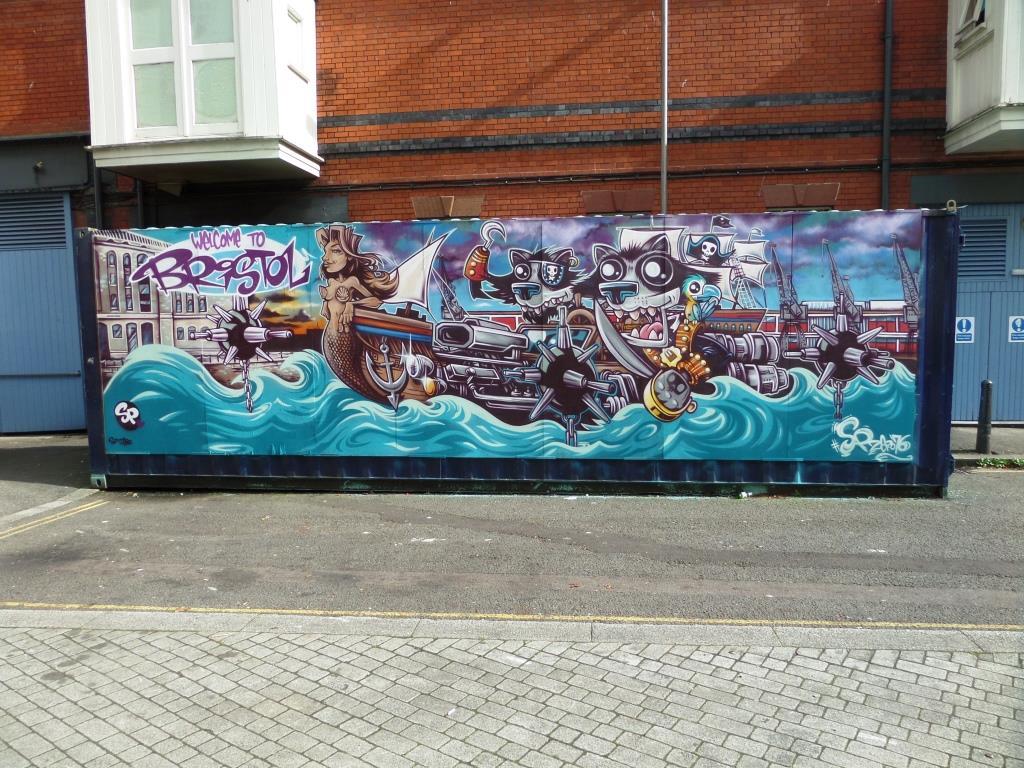 SPZero76, Anchor Road, Bristol, October 2017