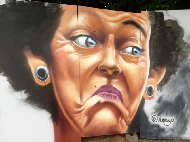 Xemayo, Upfest, Bristol, July 2016