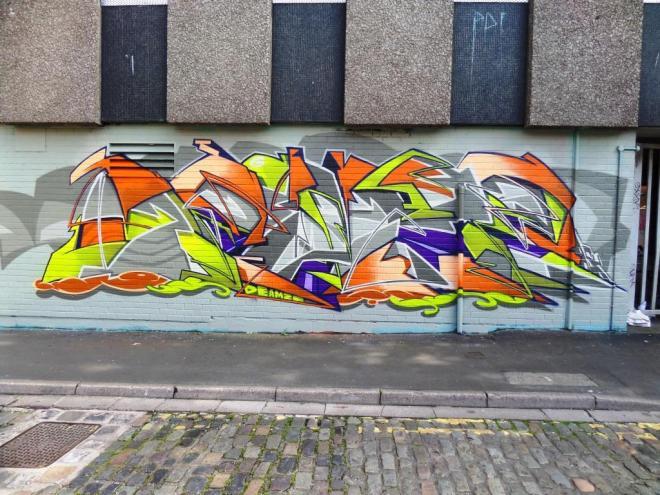Deamze, Wilder Street, Bristol, August 2017